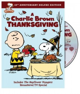 Charlie Brown Thanksgiving dvd