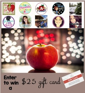 $25 TpT Gift Card Giveaway An Apple for the Teacher June 19
