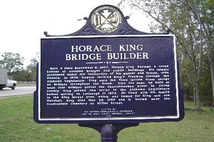 horace king historical marker in laGrange